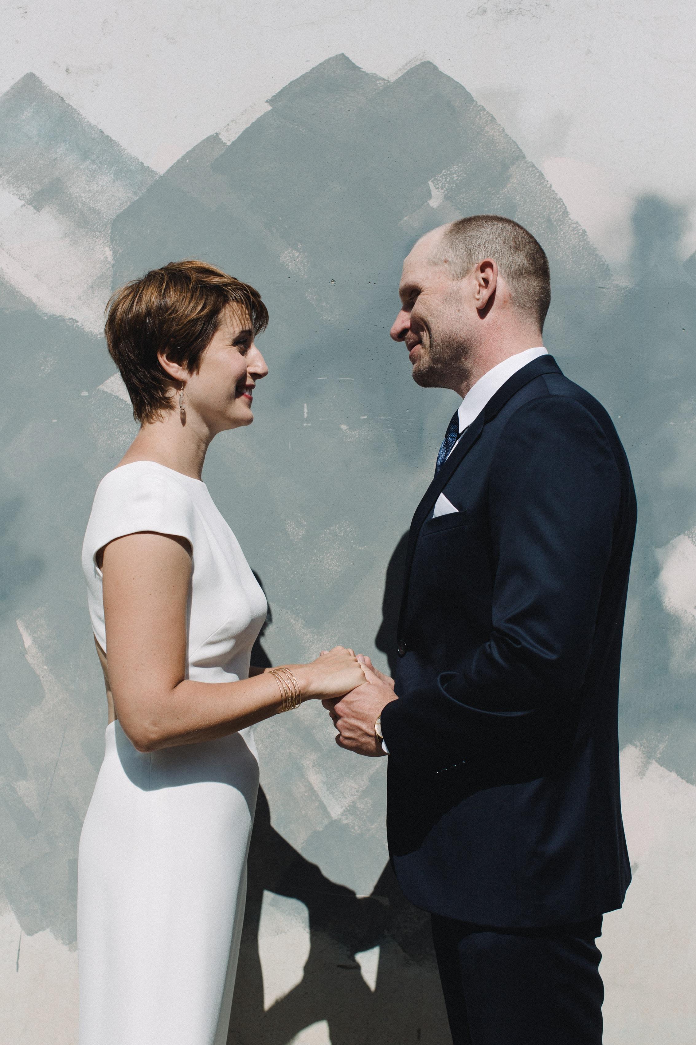 Kristin & Eric – Corson Building